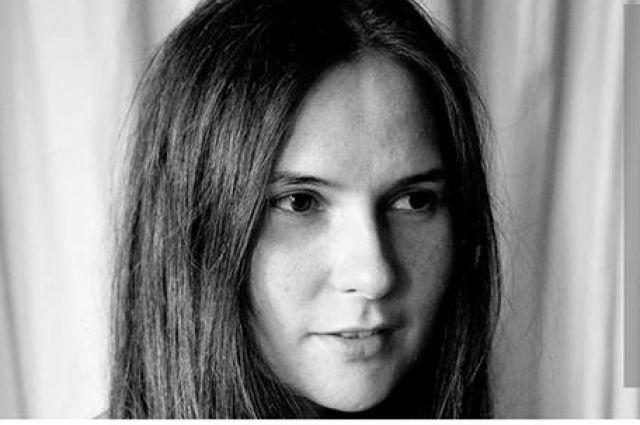 Поэт Анна Логвинова.