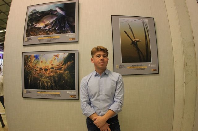 Эдуард Николаев со своими лучшими работами.