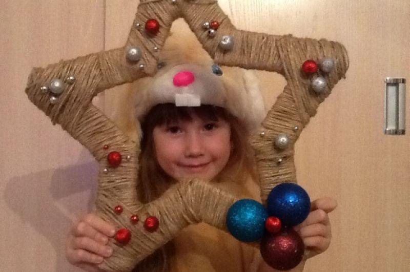 Виктория Ребрий 5 лет