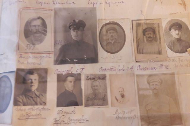 По оперативно-розыскным альбомам ЧК есть возможность восстановить многие имена белых офицеров.