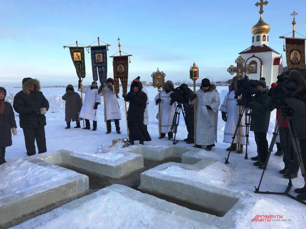 В Ханты-Мансийске место для крещенских купаний не меняется уже несколько лет