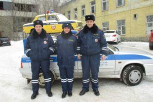 Полицейские из Павлово помогли беременной доехать до роддома.