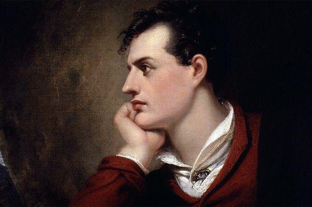Джордж Гордон Байрон. Портрет.