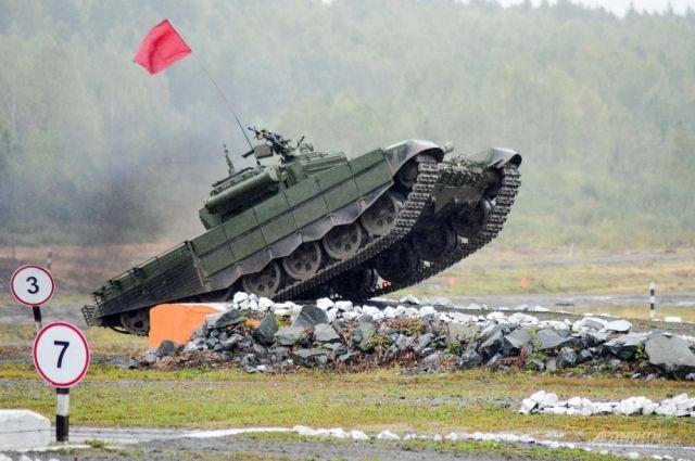 В Заводоуковске ко Дню защитника Отечества готовят макет танковой башни