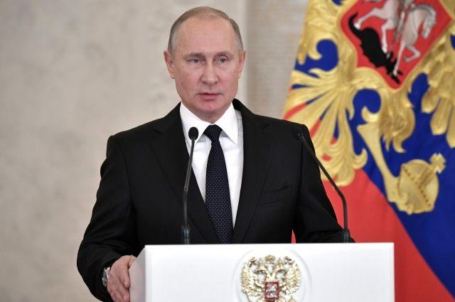 Путин обсудил с членами Совбеза РФ принятие закона о реинтеграции Донбасса