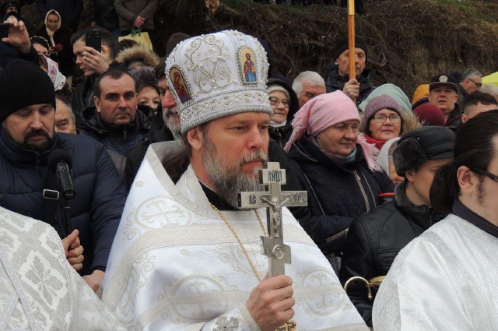 Настоятель храма Рождества Христова отец Александр Игнатов.