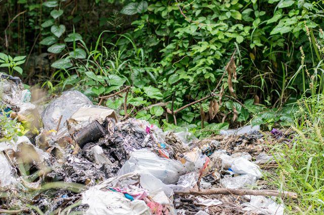 Можно ли закапывать мусор на дачном участке?
