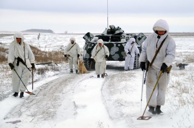 Саперы разминировали два района около линии соприкосновения в Донбассе