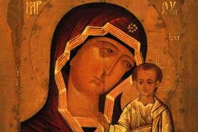 В Нижний Новгород прибудет образ Казанской иконы Божией матери.