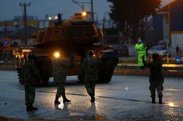 Турция перебросила спецназ к сирийской границе