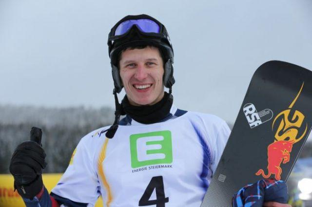 Серебряный призёр Кубка мира - наш Андрей Соболев.