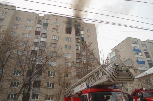 ВКурске жильцов многоэтажки наКраснополянской эвакуировали из-за пожара