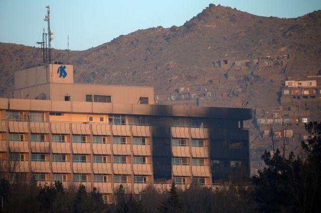 Гражданин Украины погиб при нападении боевиков на отель в Кабуле