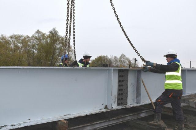 Мостовой переход в Барнауле