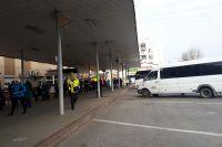 В Тюмени из-за резкого похолодания междугородние рейсы изменили расписание
