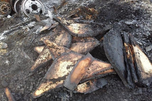 Под Тверью сгорела мастерская попроизводству гуслей