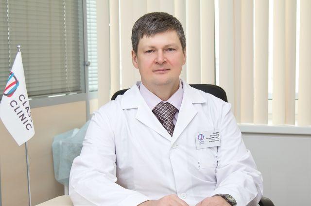 Врач-колопроктолог МЦ «Класс Клиник» Владимир Клюев.