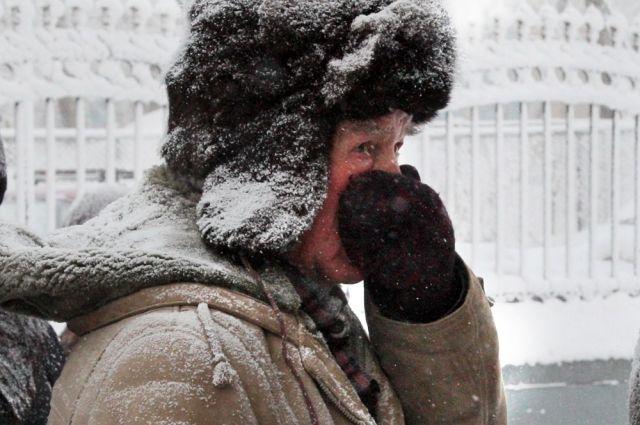 43 человека в крае за неделю попали в больницу с обморожением.