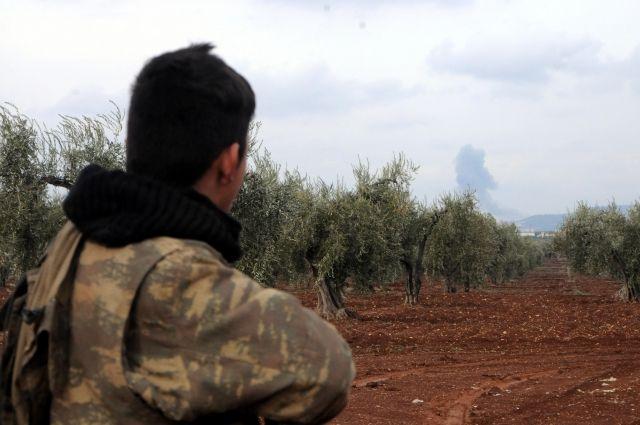 Курды сообщили обуничтожении 5-ти турецких танков