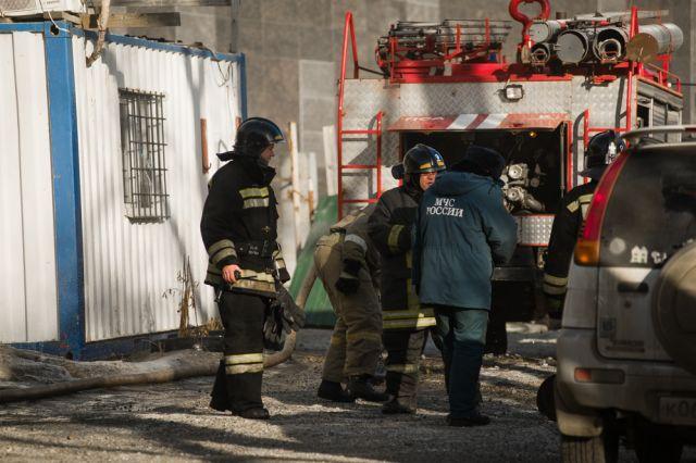 Общая площадь возгорания составила 20 квадратных метров.