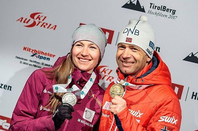 Домрачева сообщила, что Бьорндален поедет с ней на Олимпиаду