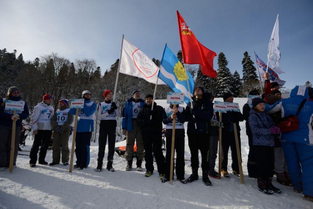 Соревнования объединили 48 команд со всей России.