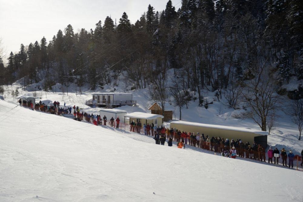 Гонка собрала в горах Адыгеи порядка 1000 отдыхающих.