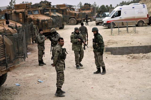 Генштаб Турции сказал о смерти военного впроцессе операции вАфрине