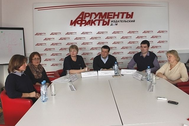 Круглый стол в пресс-центре АиФ.