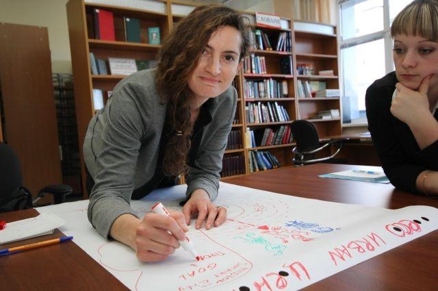 В прошлом году в рамках проекта было проведено 70 обучающих занятий.