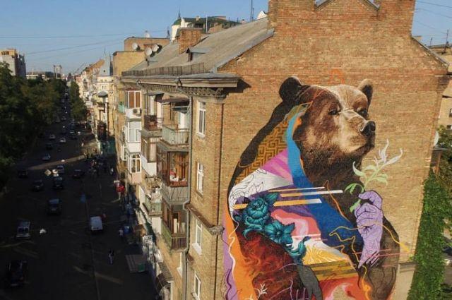 Три мурала из Украины попали в список лучшего мирового уличного искусства