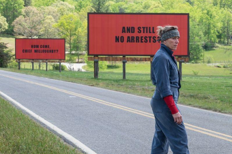 В категории «Лучший фильм» номинированы: «Три билборда на границе Эббинга, Миссури» Мартина МакДона.