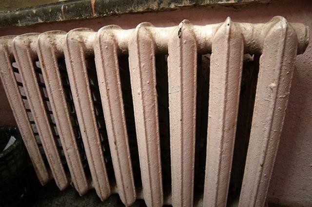 Температура в помещениях опускается до +9 градусов.