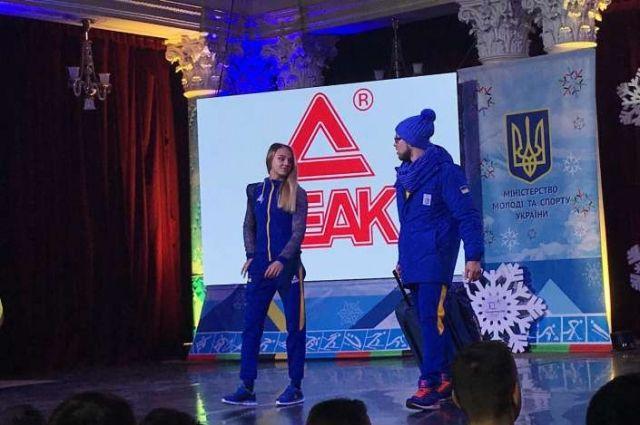 ВКиеве торжественно провели олимпийскую сборную Украины наИгры вПхёнчхан