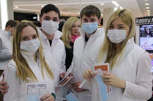 Участие в акции примут студенты-медики