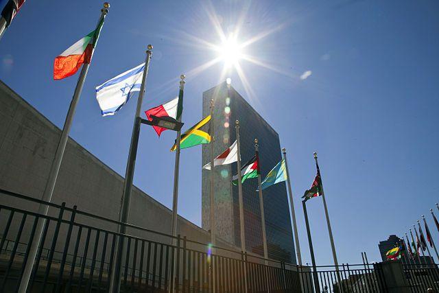 Новая перепалка вОрганизации Объединенных Наций — США и Российская Федерация