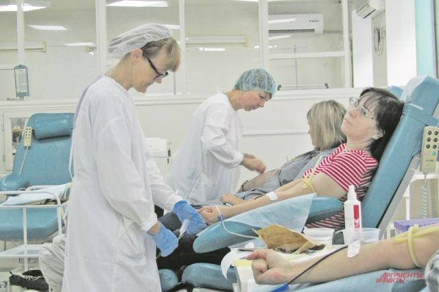 На каждой станции переливания должен храниться двухгодичный запас крови