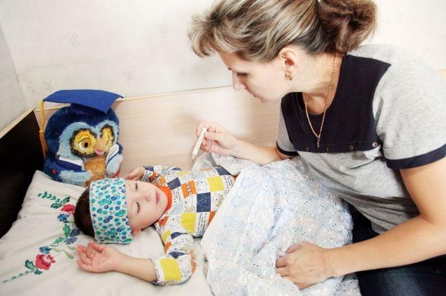 Эпидемиологический порог среди малышей до двух лет превышен более чем на 30%.