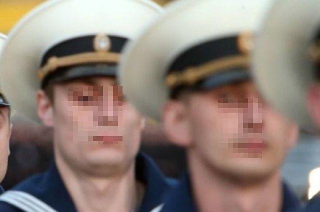 Калининградские курсанты поддержали флешмоб и станцевали под Satisfaction.
