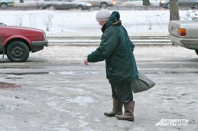ГИБДД предупреждает автомобилистов о ДТП из-за перепадов температур.