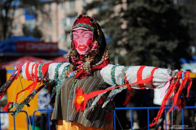 ВМайкопе объявлен конкурс налучшую куклу-чучело «Сударыня-Масленица»