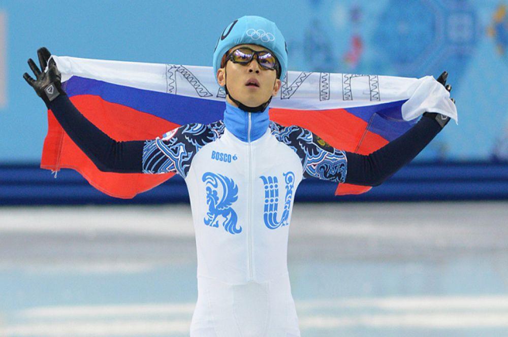 Шестикратный олимпийский чемпион Виктор Ан (шорт-трек).