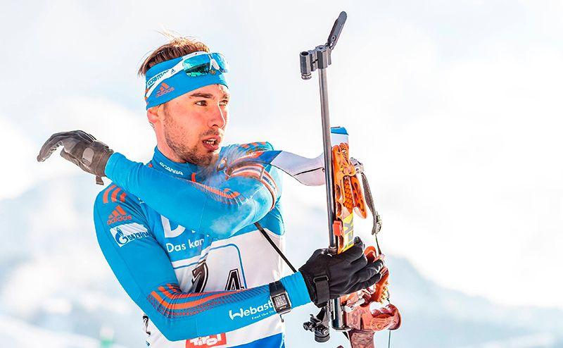 Олимпийский чемпион Антон Шипулин (биатлон).
