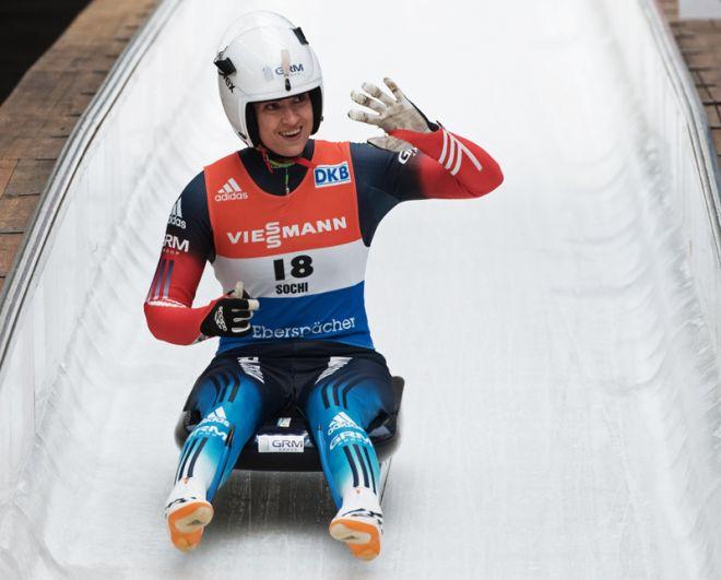 Серебряный призер Олимпиады Сочи-2014 Татьяна Иванова (санный спорт).
