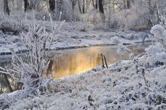 ВЗолотухинском районе насмерть замерз мужчина