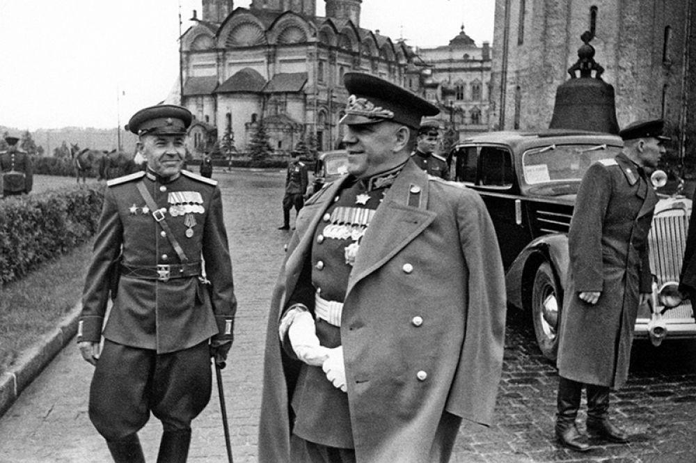 Маршал СССР Георгий Жуков набрал 27% голосов.