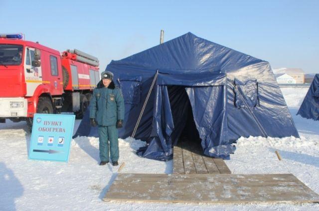 ВКрыму работают стационарные пункты обогрева— МЧС