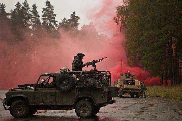 Литовские военные примут участие вучениях вУкраинском государстве