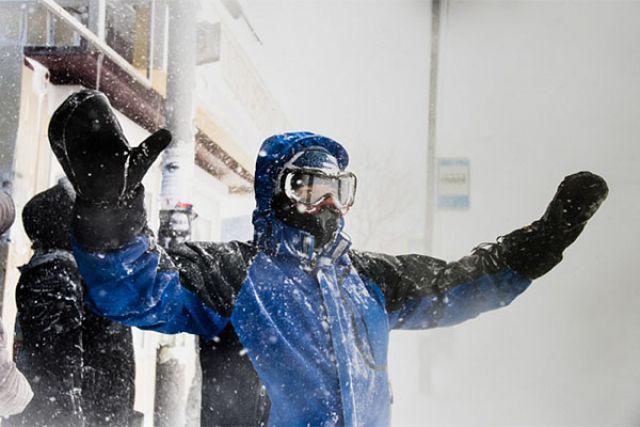 ВПетропавловске-Камчатском из-за циклона отменены занятия вшколах