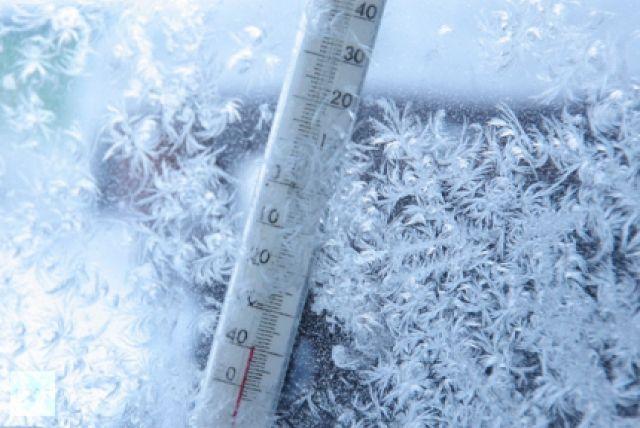 На этой неделе в округе температура воздуха варьировалась от 35 до 43 градусов мороза.